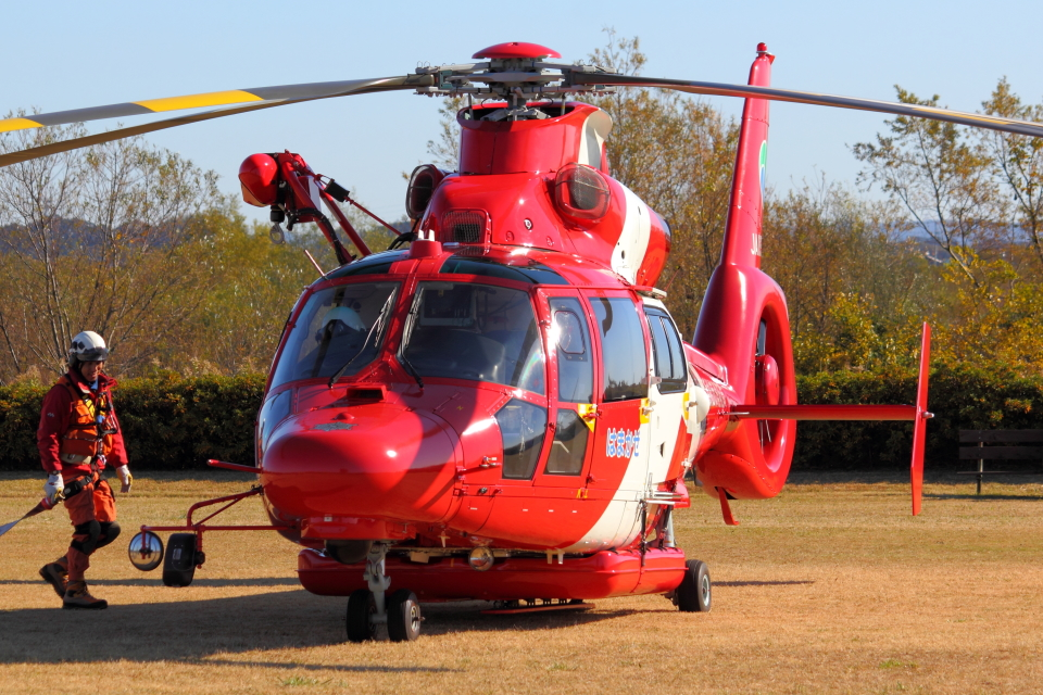 Dickiesさんの浜松市消防航空隊 Eurocopter AS365/565 Dauphin 2/Panther (JA119X) 航空フォト