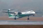 Double_Hさんが、熊本空港で撮影したANAウイングス DHC-8-402Q Dash 8の航空フォト(写真)