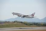 FRTさんが、広島空港で撮影したJALエクスプレス 737-846の航空フォト(飛行機 写真・画像)