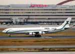 voyagerさんが、羽田空港で撮影したエアXチャーター A340-312の航空フォト(飛行機 写真・画像)