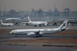 ハム太郎。さんが、羽田空港で撮影したエアXチャーター A340-312の航空フォト(写真)
