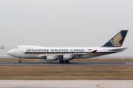 sg-driverさんが、北九州空港で撮影したシンガポール航空カーゴ 747-412F/SCDの航空フォト(写真)