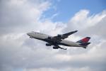 kohkohさんが、仙台空港で撮影したデルタ航空 747-451の航空フォト(写真)