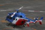 Wasawasa-isaoさんが、名古屋飛行場で撮影した大分県防災航空隊 BK117C-2の航空フォト(写真)