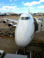 まいけるさんが、シドニー国際空港で撮影したタイ国際航空 747-4D7の航空フォト(写真)