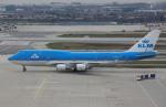 Willieさんが、トロント・ピアソン国際空港で撮影したKLMオランダ航空 747-406Mの航空フォト(写真)