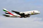 スワンナプーム国際空港 - Suvarnabhumi International Airport [BKK/VTBS]で撮影されたエミレーツ航空 - Emirates [EK/UAE]の航空機写真