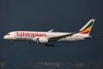 杉の裏さんが、香港国際空港で撮影したエチオピア航空 787-8 Dreamlinerの航空フォト(写真)