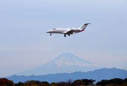 mojioさんが、静岡空港で撮影した静岡エアコミュータ 525A Citation CJ2+の航空フォト(写真)