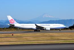 mojioさんが、静岡空港で撮影したチャイナエアライン A330-302の航空フォト(写真)