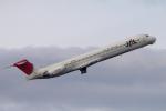 yabyanさんが、中部国際空港で撮影したJALエクスプレス MD-81 (DC-9-81)の航空フォト(飛行機 写真・画像)