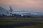 nobu2000さんが、出雲空港で撮影した日本航空 737-846の航空フォト(写真)