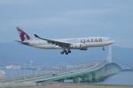 FRTさんが、関西国際空港で撮影したカタール航空 A330-202の航空フォト(写真)
