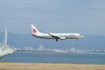 FRTさんが、関西国際空港で撮影した中国国際航空 737-89Lの航空フォト(飛行機 写真・画像)