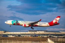 新千歳空港 - New Chitose Airport [CTS/RJCC]で撮影されたエアアジア・エックス - AirAsia X [D7/XAX]の航空機写真