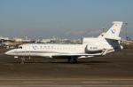 スポット110さんが、羽田空港で撮影した民生金融租賃 Falcon 7Xの航空フォト(写真)
