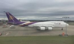Lovely-Akiさんが、シドニー国際空港で撮影したタイ国際航空 747-4D7の航空フォト(飛行機 写真・画像)