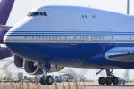キイロイトリ1005fさんが、関西国際空港で撮影したラスベガス サンズ 747SP-21の航空フォト(写真)