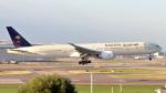 誘喜さんが、ロンドン・ヒースロー空港で撮影したサウディア 777-368/ERの航空フォト(写真)