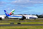 まいけるさんが、シドニー国際空港で撮影した全日空 787-9の航空フォト(写真)