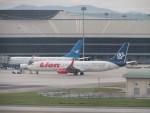 きゃみさんが、クアラルンプール国際空港で撮影したライオン・エア 737-9GP/ERの航空フォト(写真)