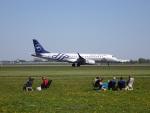 nobu2000さんが、アムステルダム・スキポール国際空港で撮影したKLMシティホッパー ERJ-190-100(ERJ-190STD)の航空フォト(写真)
