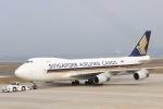 Fukutaroさんが、北九州空港で撮影したシンガポール航空 747-412F/SCDの航空フォト(写真)