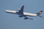 多摩川崎2Kさんが、羽田空港で撮影したルフトハンザドイツ航空 A340-642Xの航空フォト(写真)