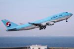 yabyanさんが、中部国際空港で撮影した大韓航空 747-4B5(BCF)の航空フォト(飛行機 写真・画像)