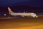 md11jbirdさんが、熊本空港で撮影したチャイナエアライン 737-8Q8の航空フォト(写真)