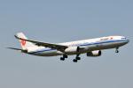 panchiさんが、成田国際空港で撮影した中国国際航空 A330-343Eの航空フォト(飛行機 写真・画像)