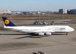 voyagerさんが、羽田空港で撮影したルフトハンザドイツ航空 747-830の航空フォト(飛行機 写真・画像)