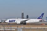Dutchsamuさんが、成田国際空港で撮影したLOTポーランド航空 787-8 Dreamlinerの航空フォト(写真)
