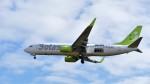 Koj-skadb2116さんが、鹿児島空港で撮影したソラシド エア 737-81Dの航空フォト(写真)