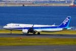 CB20さんが、羽田空港で撮影した全日空 A321-272Nの航空フォト(写真)