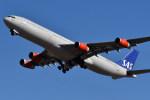 Dutchsamuさんが、成田国際空港で撮影したスカンジナビア航空 A340-313Xの航空フォト(写真)