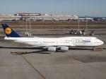 51ANさんが、羽田空港で撮影したルフトハンザドイツ航空 747-830の航空フォト(写真)