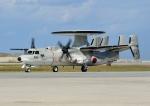 じーく。さんが、那覇空港で撮影した航空自衛隊 E-2C Hawkeyeの航空フォト(飛行機 写真・画像)