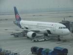 flyingmasさんが、南京禄口国際空港で撮影した青島航空 A320-214の航空フォト(写真)