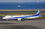 SOMAさんが、羽田空港で撮影した全日空 A321-272Nの航空フォト(写真)