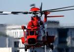 チャーリーマイクさんが、東京ヘリポートで撮影した東京消防庁航空隊 EC225LP Super Puma Mk2+の航空フォト(写真)
