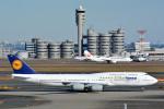 トロピカルさんが、羽田空港で撮影したルフトハンザドイツ航空 747-830の航空フォト(写真)