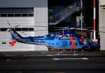 チャーリーマイクさんが、東京ヘリポートで撮影した警視庁 206L-4 LongRanger IVの航空フォト(写真)