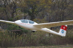 zibaさんが、木曽川滑空場で撮影した日本個人所有 ASK 21の航空フォト(写真)