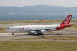 くまちばさんが、関西国際空港で撮影したエア・レジャー A340-212の航空フォト(写真)