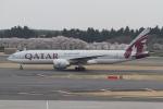 くまちばさんが、成田国際空港で撮影したカタール航空 777-2DZ/LRの航空フォト(写真)