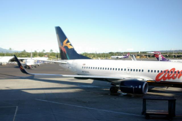 トシさんさんが、ダニエル・K・イノウエ国際空港で撮影したアロハ航空 737-76Nの航空フォト(飛行機 写真・画像)