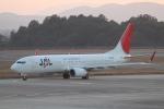 くまちばさんが、広島空港で撮影したJALエクスプレス 737-846の航空フォト(写真)