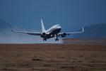 FRTさんが、松山空港で撮影したアメリカ企業所有 737-7JR BBJの航空フォト(飛行機 写真・画像)