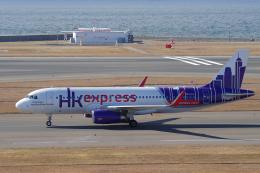 yabyanさんが、中部国際空港で撮影した香港エクスプレス A320-232の航空フォト(写真)
